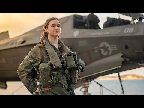 Air Force Fighter Pilot Fly F-35B On Navy Marine Corps Warship: Capt. Melanie Ziebart