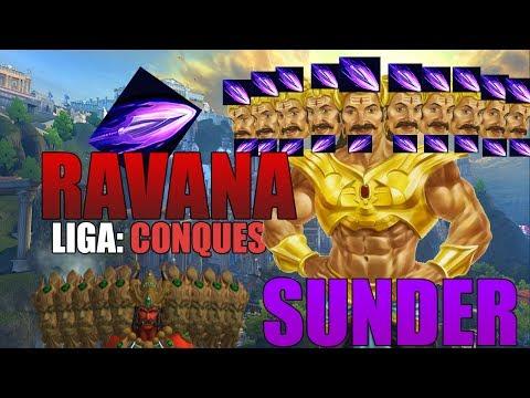 RAVANA, ESTO PEGA DEMASIADO! El mejor dios en la jungla?  | Liga Conquest