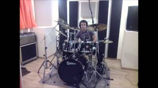 Ghostbusters Drums Cover
