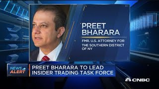 Preet Bharara to lead insider trading task force
