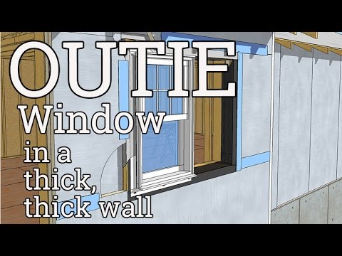 Outie Window Details for Thick, Thick Walls