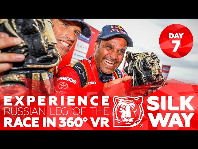 Experience russian leg of the race in 360 VR: Day 7 | Silk Way Rally 2018🌏