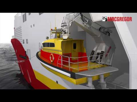 MacGregor fast rescue craft davit - G-type