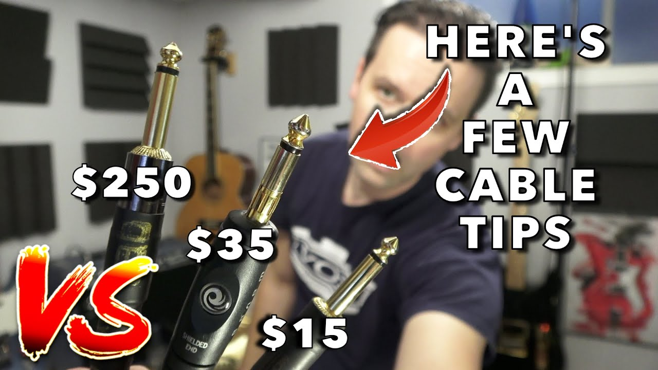 How much do Guitar Cables matter?
