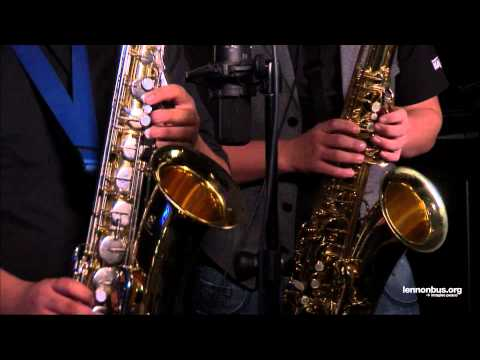 """Lennon Bus Live: """"Area Fifty Funk"""" by Jazz Avenue"""