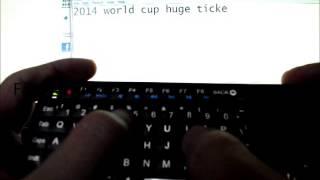riitek rii i6 mini keyboard touchpad backlit learning remote wireless 2 4ghz