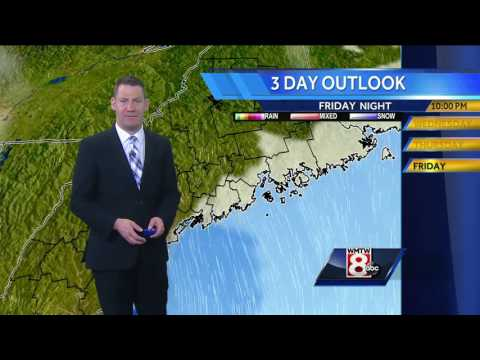Ted's Wednesday Afternoon Weather Forecast