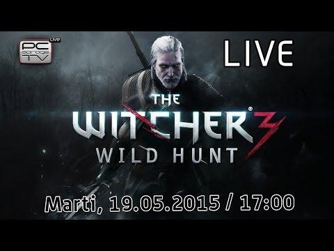 LIVE cu PREMII - The Witcher 3, un joc de nota 10!
