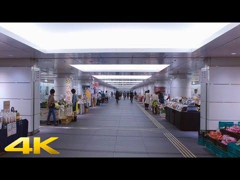 Tokyo Hibiya Underground Walk【4K】