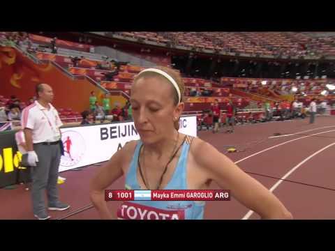 W50 400m Masters 2015 IAAF World Championships Beijing 2015