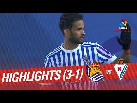 Resumen de Real Sociedad vs SD Eibar (3-1)