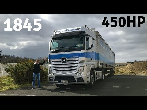Mercedes-Benz Actros 1845 Truck - Full Tour & Test Drive - Stavros969