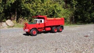All metal body, RC Hayes HD scale model Dump Truck
