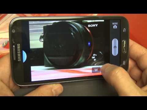 Sony Cyber-shot DSC-HX50V WiFi Control Test