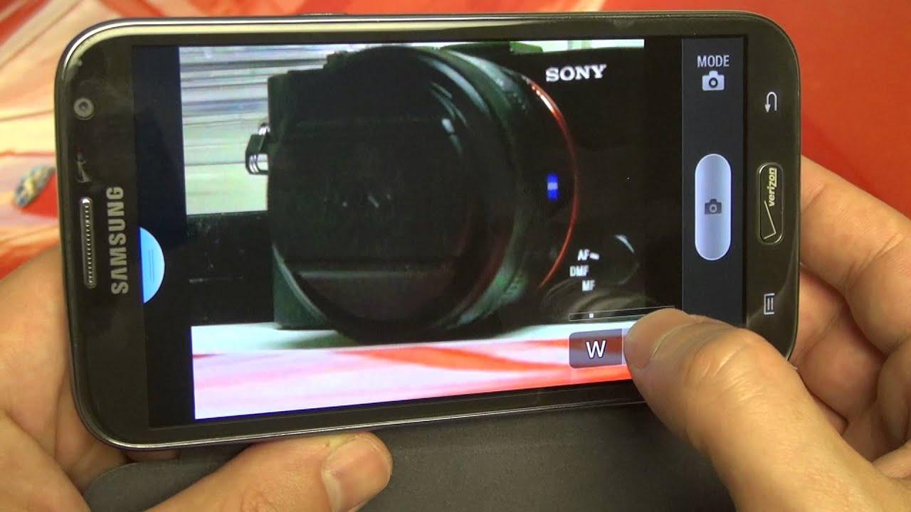 Sony Cyber-shot DSC-HX50V WiFi Control Test - YouTube