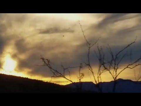 Stunning Large Black UFO Filmed Hovering over Mule Mountains in Arizona - FindingUFO