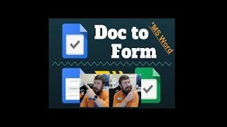 Convert your old Word documents into a Google Form Easily