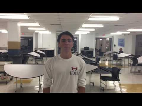 Mr. HHS 2016 AI video for Holt High School
