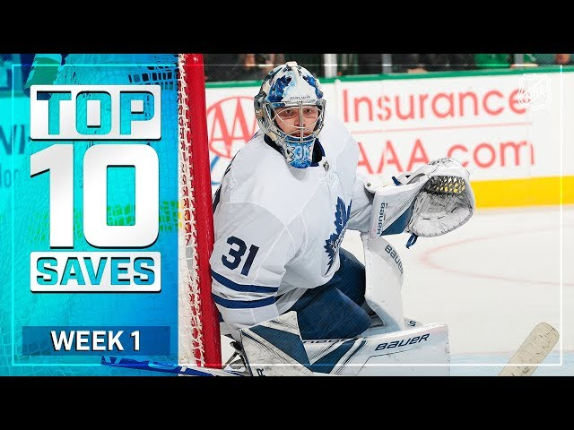 Top 10 Saves from Week 1
