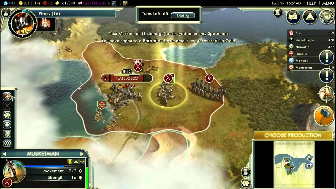 civ v conquest of the new world