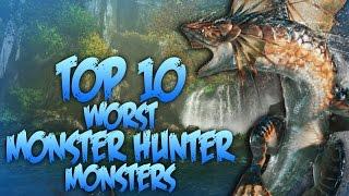 Top 10 Least Favorite Monster Hunter Monsters