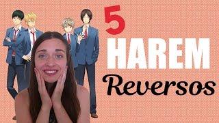 TOP 5 ANIMES DE HAREM REVERSO