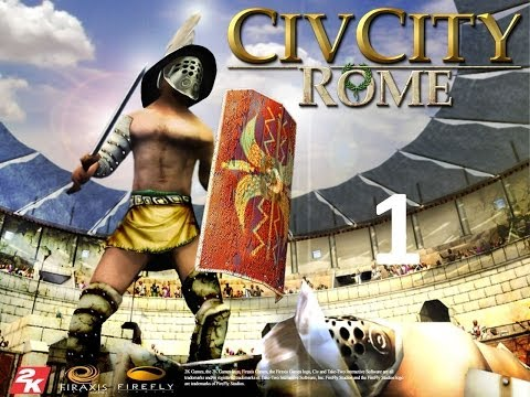 Строим город в CIVCITY ROME - 1