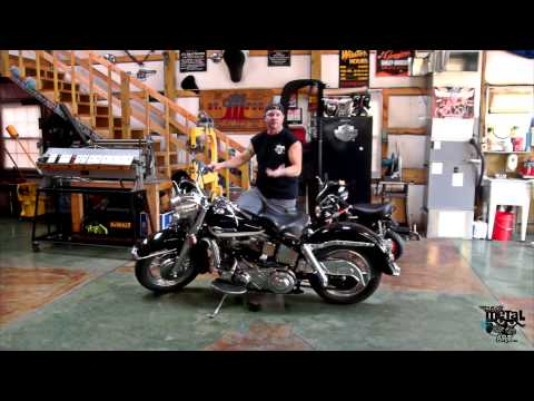 1963 Harley Davidson Panhead Start-up Procedure
