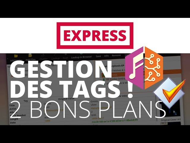 Créer sa radio - EXPRESS - Gestion des tags : MusicBrainz & Mp3Tag