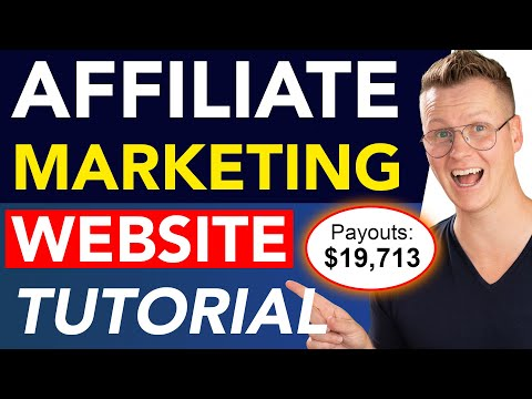 Create An Affiliate Marketing Website | Complete Beginners Course