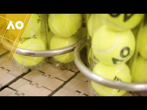 The making of a Wilson tennis ball Part 1 | Australian Open 2017