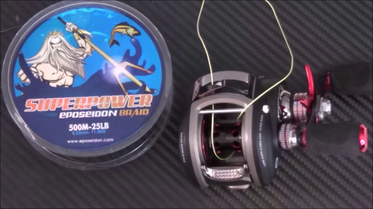 How to spool a conventional reel - How To Spool A Baitcasting Reel Video Tutorial