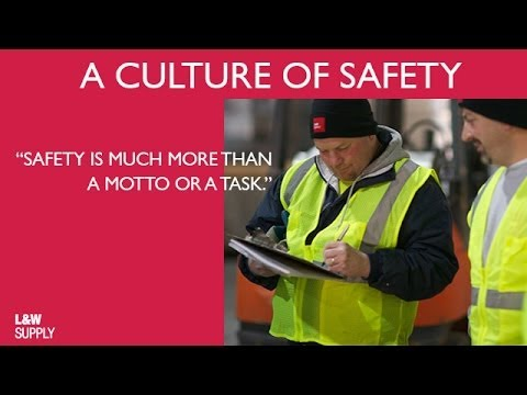 Jobsite Delivery Safety Priorities from L&W Supply | A Culture of Safety in Construction