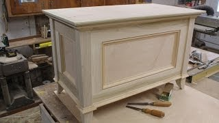Build A Blanket Chest Part 2 Making The Top By Jon Peters