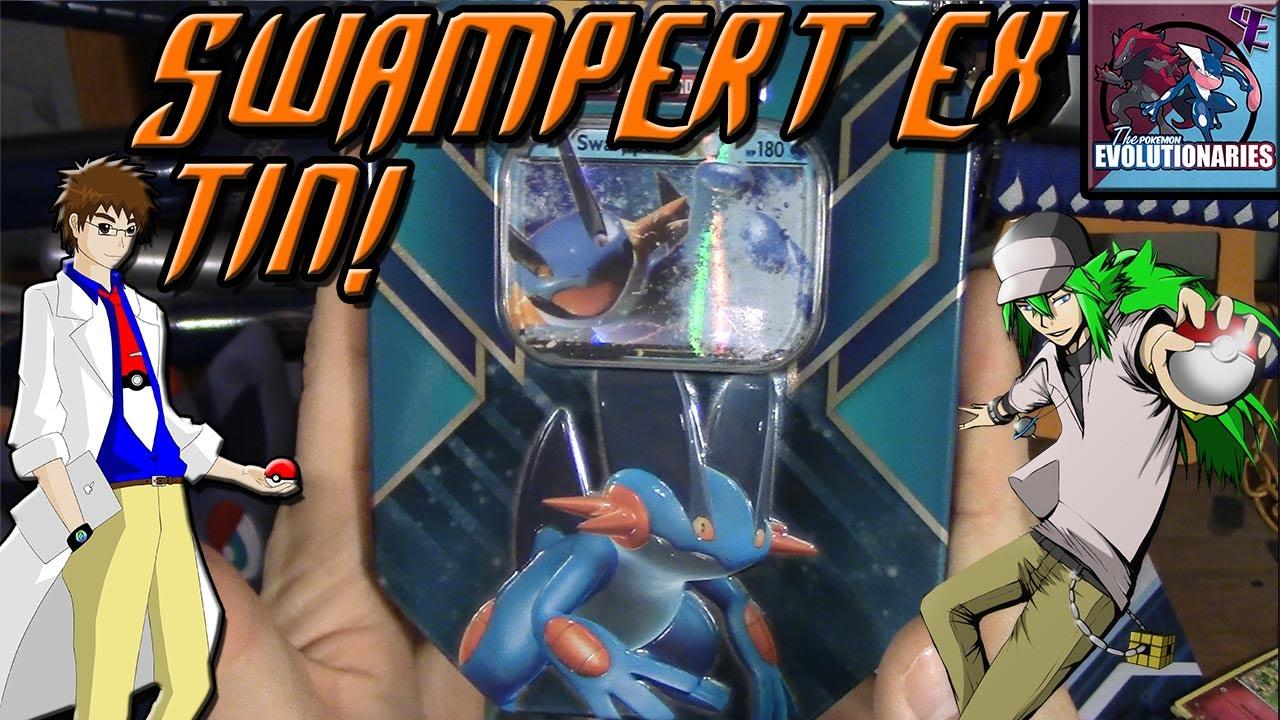 Swampert Hoenn Power Tin Pokmon Trading Card Game
