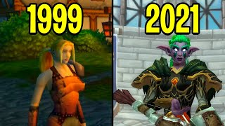 Эволюция World of Warcraft 1999-2021
