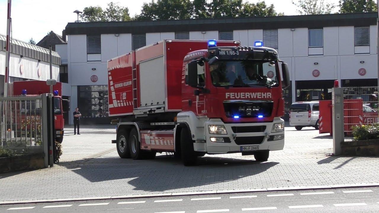Wlf 3 Mit Ab Tank Wasser Der Feuerwehr Heilbronn Youtube