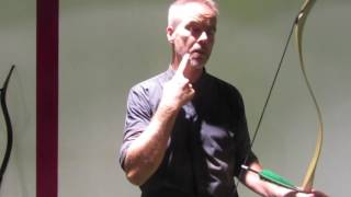 Archery FAQ: Which Anchor Point in Thumb Draw? by Malta Archery