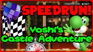 SPEEDRUN: Yoshi's Castle Adventure - Super Mario Maker Online