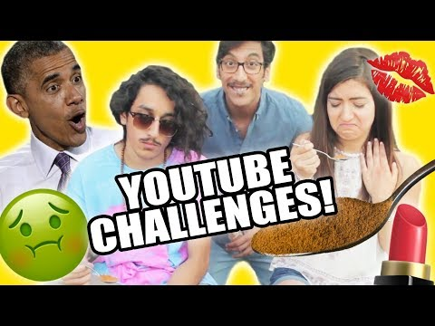 BEST YOUTUBE FAMILY DOES MAKEUP & CINNAMON CHALLENGE LOL! | Kassem Family Vlog #3