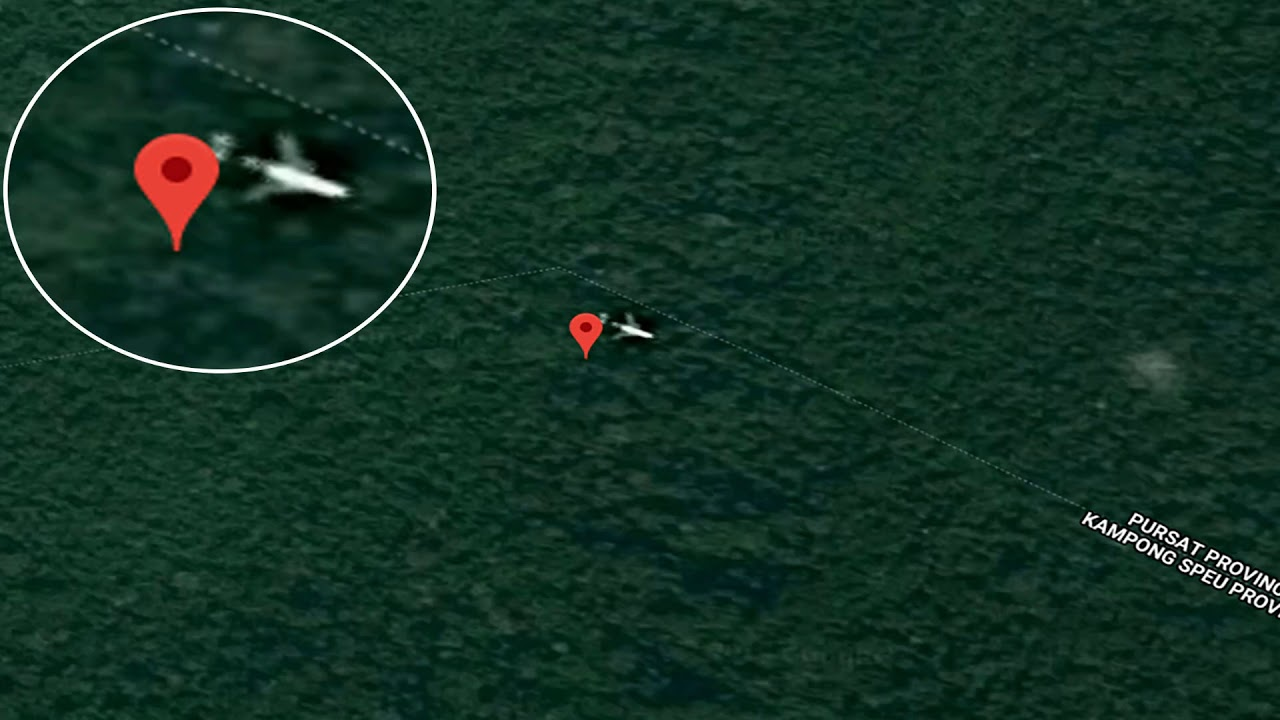 Malaysia Airlines Flight Mh370 Google Maps Kamcochia Youtube