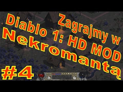 Zagrajmy W Diablo 1: HD MOD #4 Portal Miejski