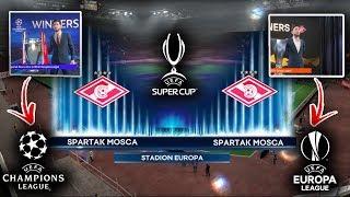 Guardate COSA SUCCEDE alla UEFA SUPER CUP se VINCI CHAMPIONS ed EURPA LEAGUE nella modalita carriera