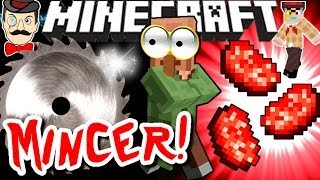 Minecraft HORROR MINCER! Mutilates Villagers?!