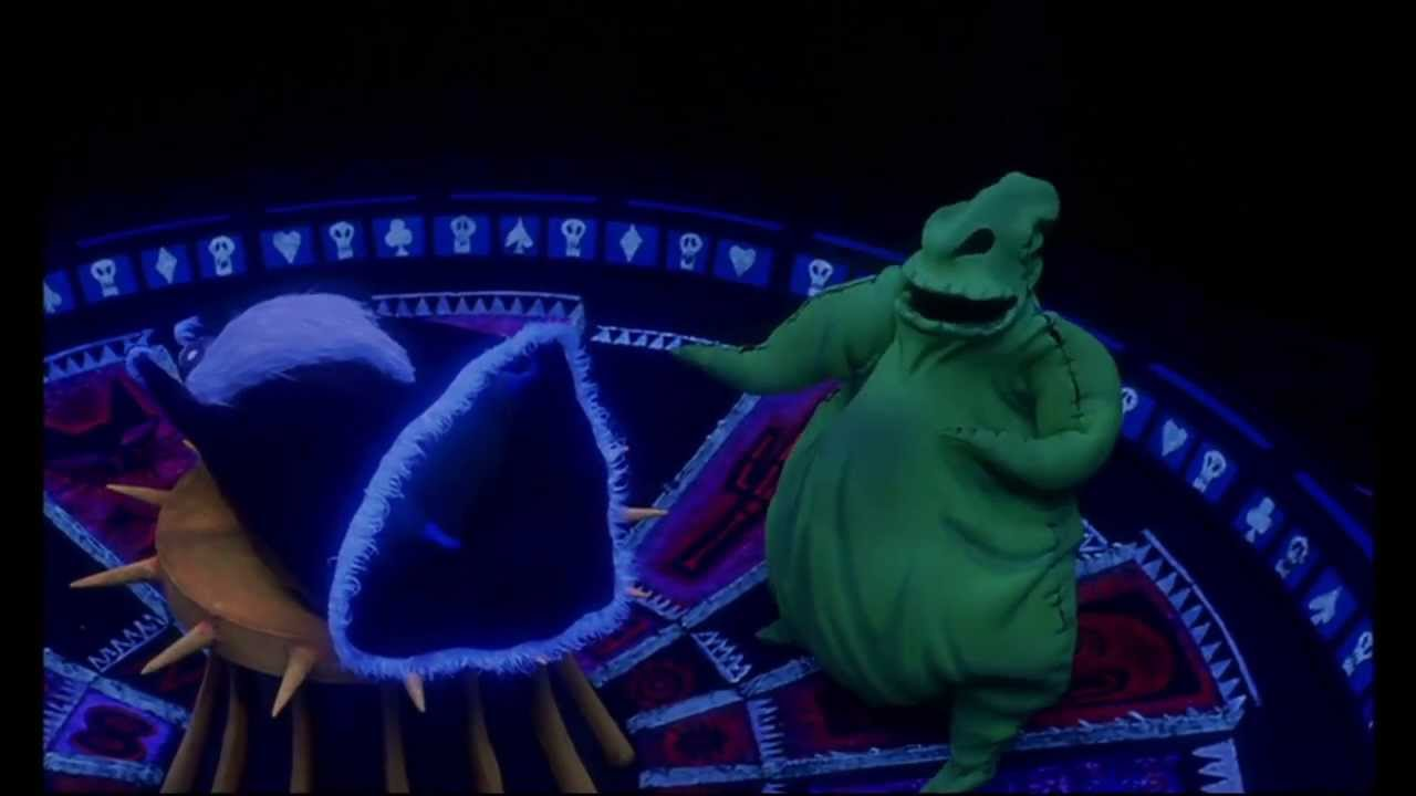 Nightmare before Christmas - oogie boogie song [1080p HD] - YouTube