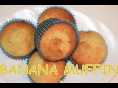 Easy BANANA MUFFINS RECIPE