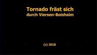Tornado fräst sich durch Viersen Boisheim