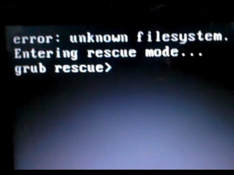 Grub Rescue Commands