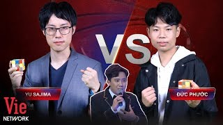 Excited about THE HIGH SPEED RUBIK BATTLE - Duc Phuoc Vs. Yu Sajima | The Brain Vietnam #11