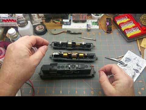 DCC Decoder Install In An Athearn Locomotive